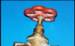Ремонт водопроводного вентиля самому